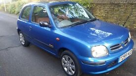 *******NISSAN MICRA 1.0 PETROL MOT TILL JUNE & TAXED LOW MILEAGE £295 ono p/x welcome *********