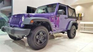 2018 Jeep Wrangler JK 4X4 SUNRIDER *SPECIAL LOCATION 24 MOIS*