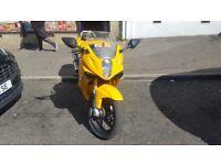 125cc hyosung gtr very good condition