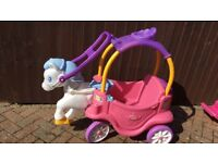 Cosy coupe princess carriage