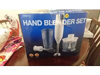Tesco hand blender set
