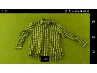 Mens black piere cardin shirt L. large. As new condition