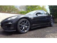 Black Mazda RX8 R3 2010
