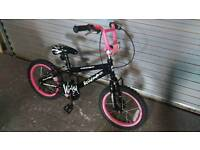 """Girls BMX Bike 16"""" wheels"""