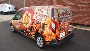 Vehicle Wrap and Sign Franchise Opportunity.