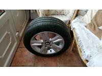 """BMW 16""""ALLOY WITH TYRE"""