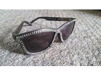 Alexander Wang x Linda Farrow zipper motif sunglasses RRP294