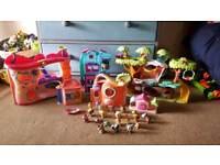Littlest Pet Shop Playset Figures 20+ Bundle