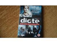 Dicte - Season 1 Brand New DVD (Scandinavian Crime Drama)