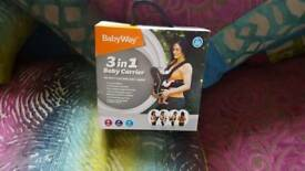 Babyway 3in1 carrier