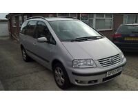 2003 Volkswagen Sharan 2.8 V6 24v Auto Carat