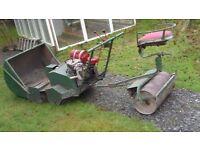 Massive Hayter cylinder mower