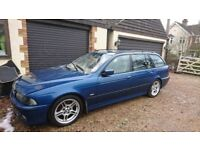 BMW E39 M Sport 530d auto Touring - Topaz Blue - breaking for spares