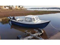 Orkney Strikeliner 16+ fishing boat