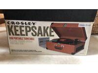 Crosley Keepsake USB Turntable, Tan