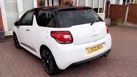 2012 Citreon DS3 Dstyle plus 3 dr, full service history, 1 lady owner, MOT march 2018,