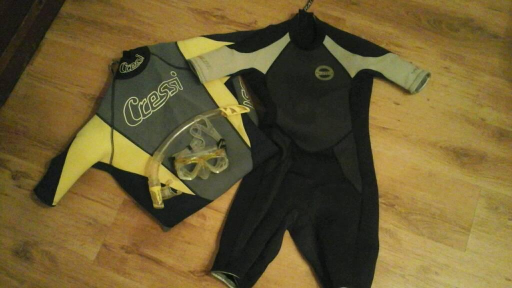 Wet Suit shortie X2