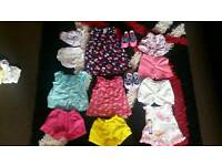 6-9 baby girls bundle