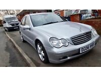 2006 MERCEDES C200-CDI AUTO,FULL SERVICE HISTORY,12 MONTHS MOT,LEATHER INTERIOR,TWO KEYS,HPI CLEAR