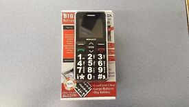 SONICA S1 UNLOCKED DUAL SIM BIG BUTTON BRAND NEW WITH RECEIPT