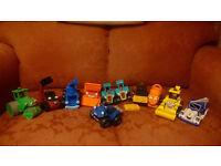 Bob the builder toys job lot