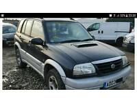 2003 Suzuki Grand Vitara 2.0 Diesel - 96,000 Miles - 4 Wheel Drive - All Documents Present