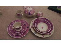 Purple Dinnerware Set £50