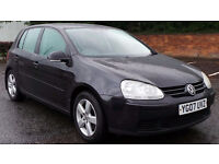 2007 07 VOLKSWAGEN GOLF 1.9 SPORT TDI 105 BHP DIESEL MOT 03/17 (PART EX WELCOME)