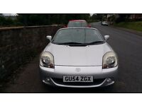 Toyota mr2 roadster convertible 54 plate