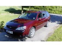 Ford mondeo estate 1.8 petrol long MOT new clutch