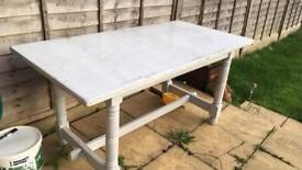 Hard heavy table