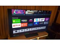 """Sony Bravia 65"""" 65XD8599 3D LED HDR 4K UHD Android TV,Youview/Freeview & Freesat HD,Playstation Now"""