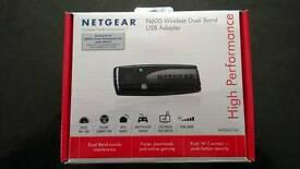 N600 Netgear Dual Band Wireless USB Adapter WNDA3100