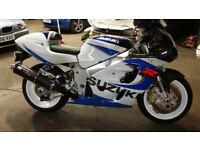 Suzuki GSXR 600 / 750 , P/X or Swap