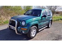 Jeep Cherokee LTD CRd 4x4 *DIESEL*MOT DECEMBER*SERVICE HISTORY**LEATHER*TOWBAR**EXCELLENT CONDITION
