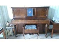 UPRIGHT PIANO -ERARD 1890's