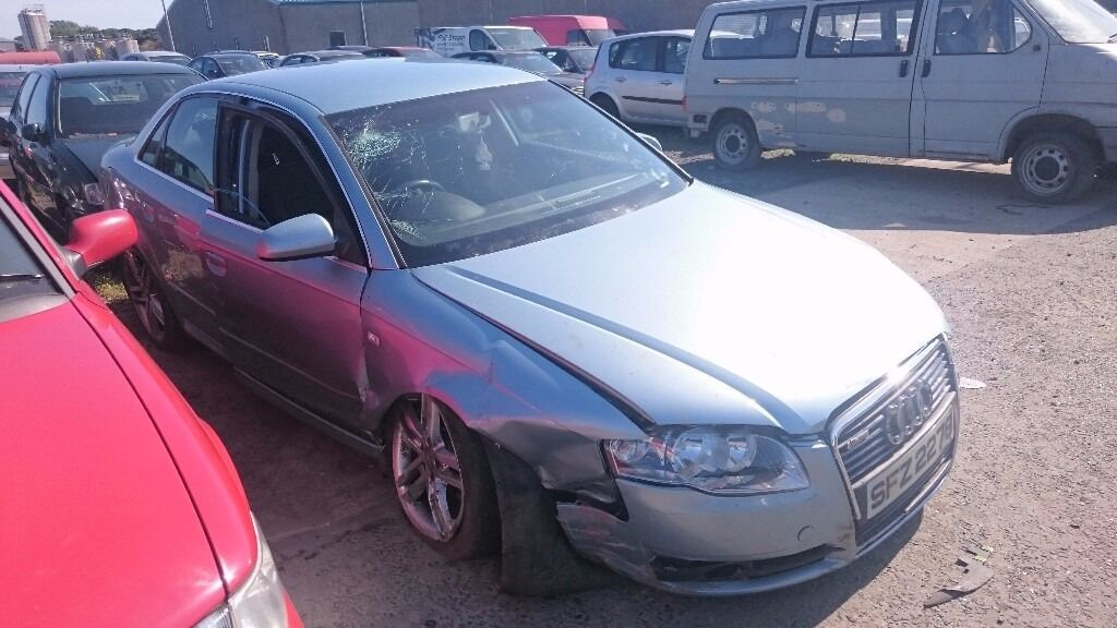 2005 AUDI A4 SE, 2.0 TDI, BREAKING FOR PARTS ONLY, POSTAGE AVAILABLE NATIONWIDE