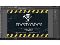 Handyman with expirience.