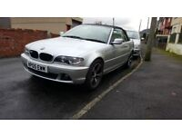 bmw 318 convertible 05 / swap considered