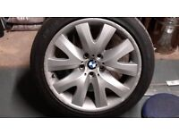 "4 ) BMW 19"" Alloy Wheels with centre caps"