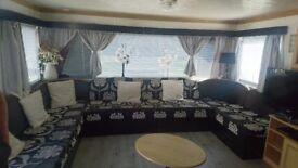Luxury 8 berth caravan, Robin Hood Camp, Rhyl, North Wales.