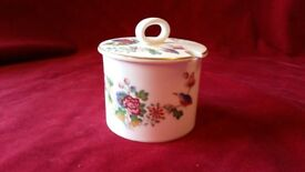 Wedgewood marmalade, jam or conserve pot Cuckoo design excellent condition