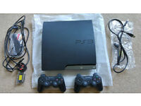 PlayStation 3 320GB Full Working Order Boxed 2 Pads & 30 Games