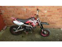 125 pitbike running needs tlc thumpstar stomp pit bike