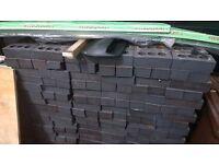 Approx 1000 Blue semi engineering bricks for sale,