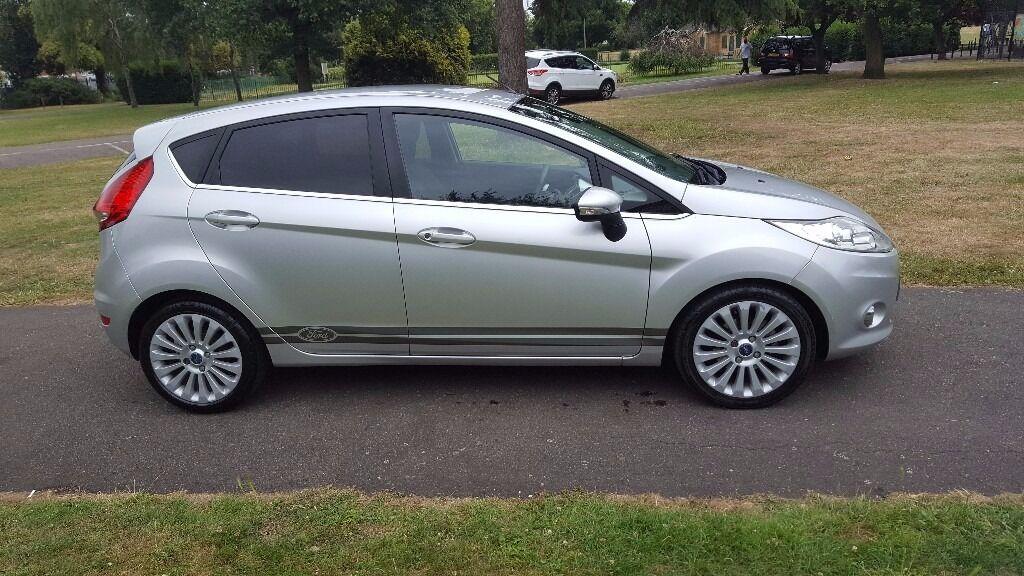 Ford Fiesta 1.6 TDCi Titanium 5dr 2KEYS, HPI CLEAR, LONG MOT,