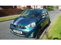 16 REG NISSAN NTEC 1.2 BLUE 5DR LOADED SPEC 2K LOW MILES 1 OWNER NEW MUST SEE CAR