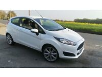 FORD FIESTA 1.25 2016 16REG WITH ZETEC ALLOYS PARKING SENSORS ONE OWNER FULL SERVICE HISTORY