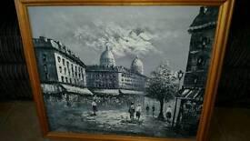 Three lovely original signed oil paintings by BURNETT