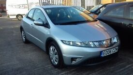 HONDA CIVIC 1.4, FSH, JUST BEEN SERVICED!